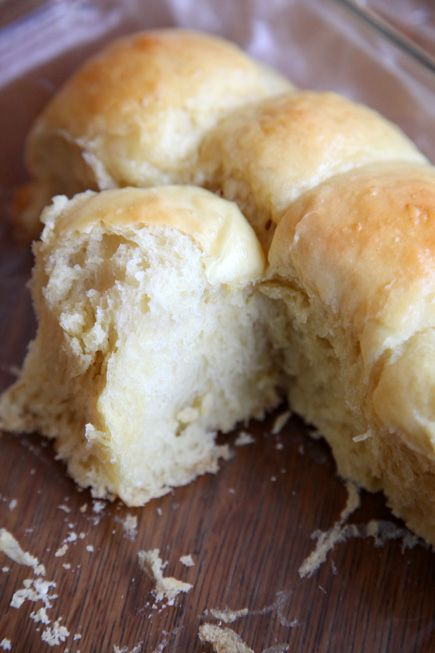 soft pull apart buns...