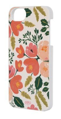 The new floral iPhone cases from Rifle paper company make us so happy for spring!
