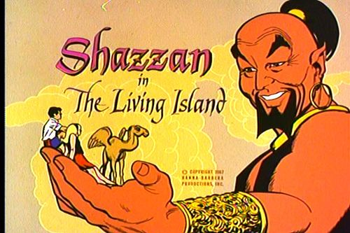 Hanna-Barbera's Shazzan, 1967 by kerrytoonz, via Flickr