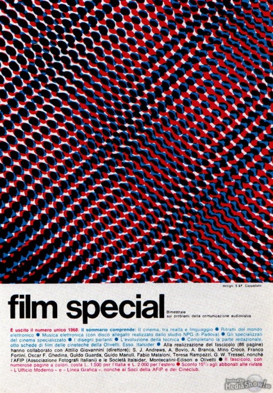 1969 - Advertising - Magazine Ad - Film special (Italy)