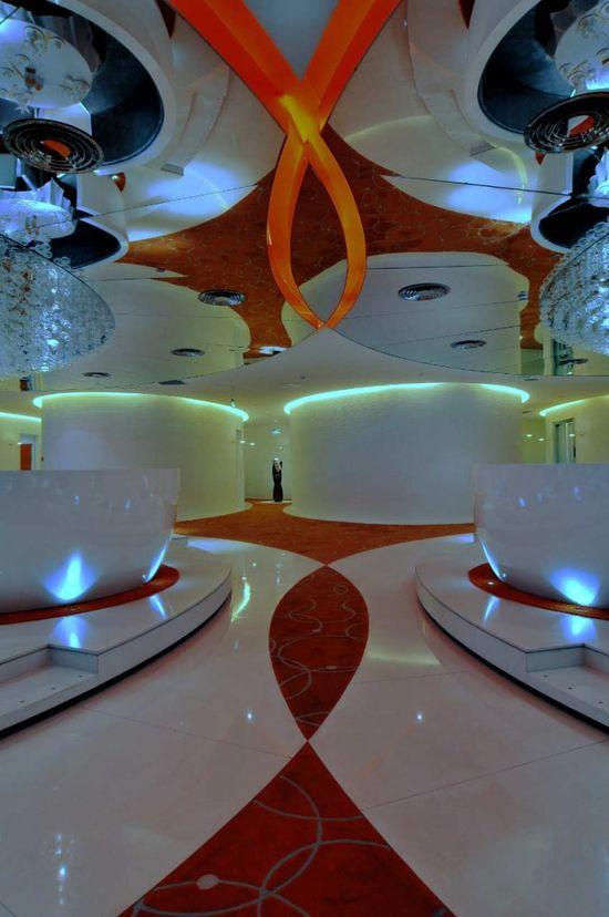 Jardin de Jade Restaurant I / P A L Design Consultants. Shanghai, China. Futuristic Interior Design