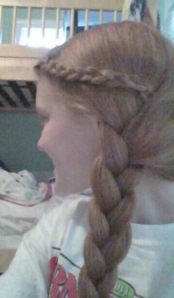 My braided hair!