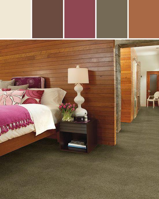 Glen Avon Carpet Bedroom Designed By Shaw Floors via Stylyze