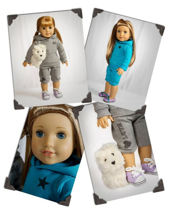 PDF Sewing Pattern for 18 Inch American Girl Dolls by KottonCandyPatterns, $4.27