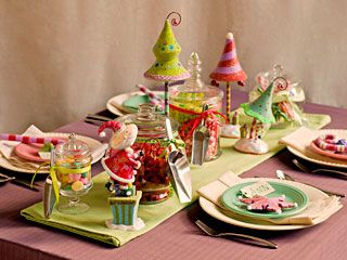 Christmas candyland