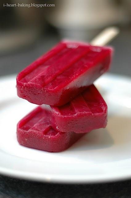 fresh grape popsicles