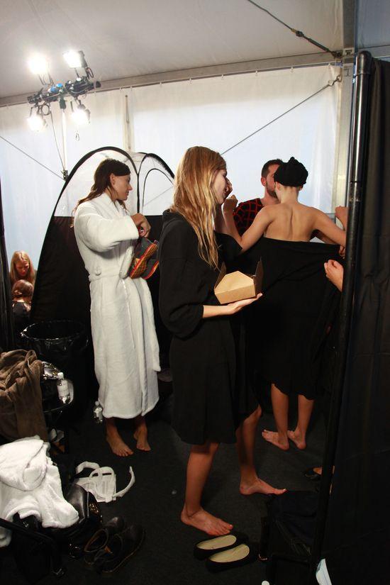 LFW S/S14 #StTropez #tan #tanning #InstantTan #TopshopUnique #Topshop #LFW #fashion #models #catwalk #frontrow