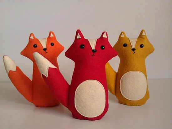 3 new foxes! available at www.sleepyking.et...