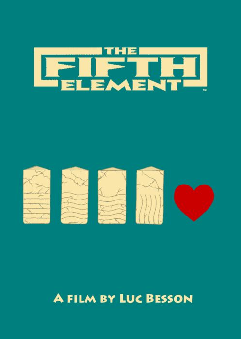 The Fifth Element by Mara K.  #poster #art