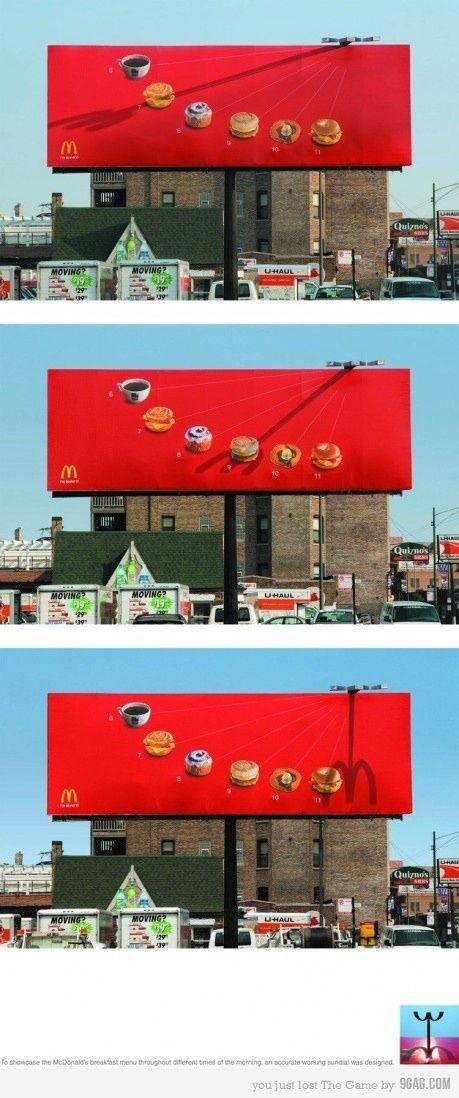 clever mcdonald's ad