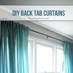 DIY back tab feature