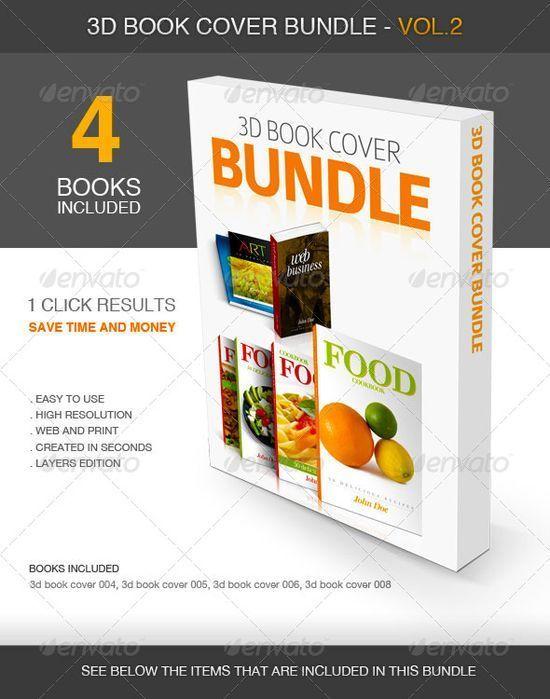 3D Book Cover vol.2 -