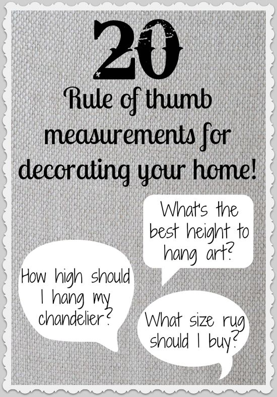 So that's how decorators balance things in ways that are so pleasing to the eye!  Excellent info.  #home
