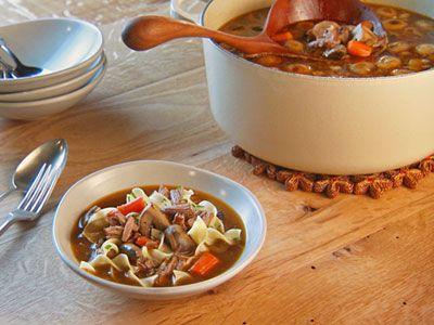 Boeuf Bourguignon Soup Recipe