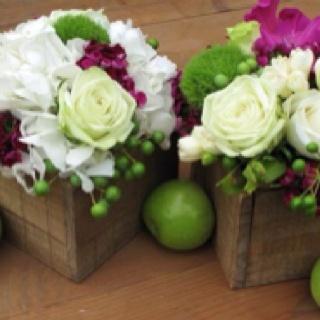 Beautiful flower arrangements.