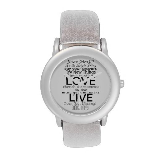 Inspirational Quotes and Sayings Watch