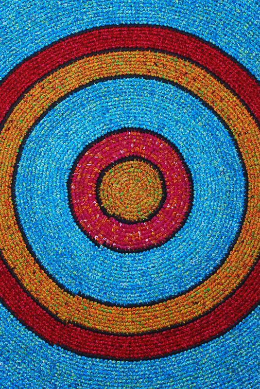 "Fair trade Udanda 100CM/39"" Handmade Rug"