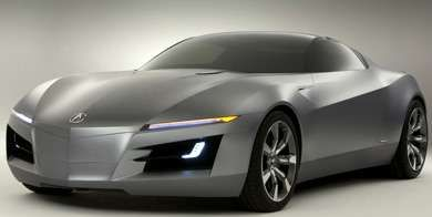 Acura Advanced Sports Car Concept trendhunter.com