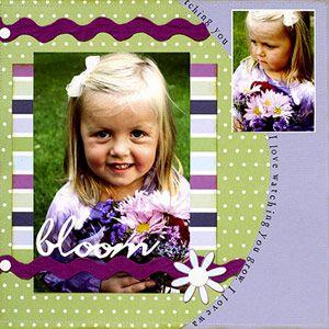 Bloom, from Scrapbooks Etc.