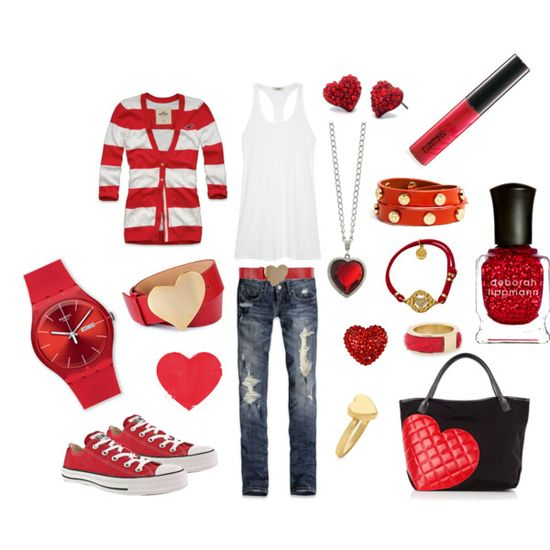 Valentine's Day outfit!!