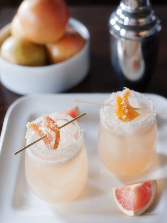 The Candied Grapefruit Cocktail
