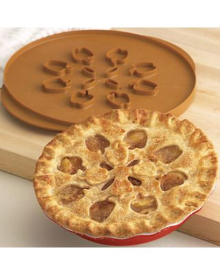 This pie top cutter allows you to get the perfect design every time. Buy it here: www.bhg.com/...