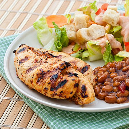 Mesquite Lime Grilled Chicken