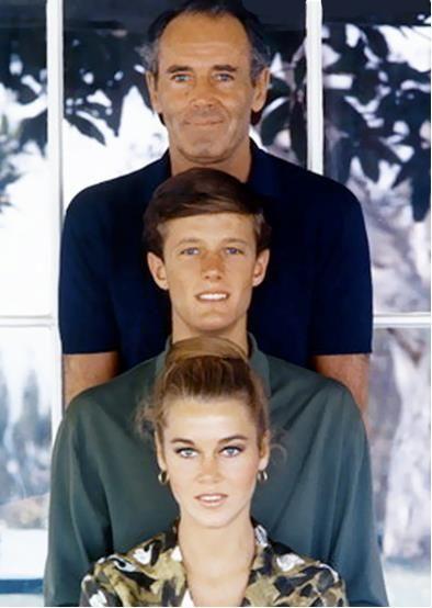 Henry, Peter & Jane Fonda