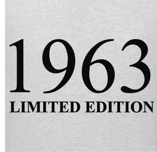 I must have this! 1963 Limited Edition 50th Birthday T-Shirt  Sizes Sm - XL. via Etsy.