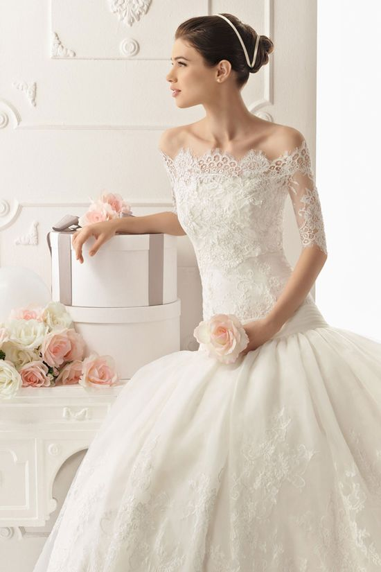 Rosa Clara #Wedding Dress - #Bridal