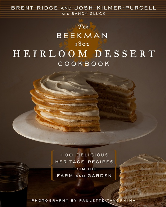 Sometimes you CAN judge a book by its cover!   Beekman 1802 Heirloom Desserts arrives on shelves in September