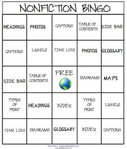 Kids learn the elements of nonfiction when they play nonfiction Bingo! Run a weekly nonfiction contest! Laminate for future use. priced #soft skills #softskills #self personality