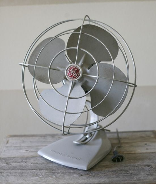 Fans were needed all summer.