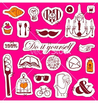 Do it yourself vector- by alevtina on VectorStock®