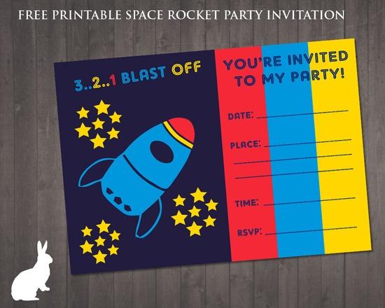 FREE Space Rocket Pa