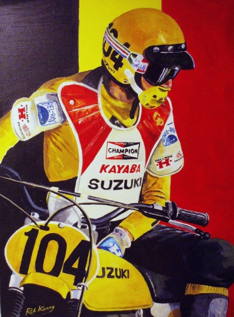 Motorcycle Art - Rob Kinsey