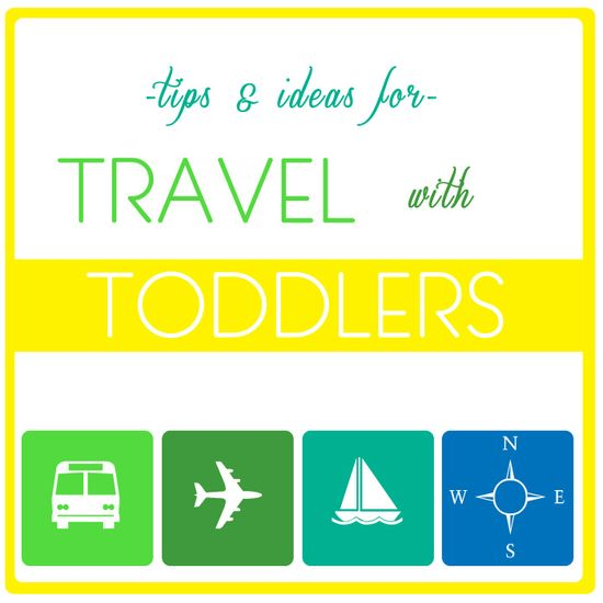 travel with toddlers