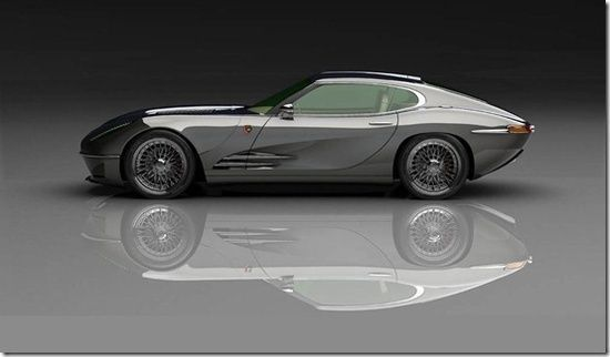 British luxury sports car Lyonheart