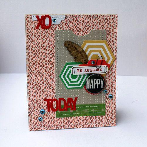 card by Mel Blackburn using our SOCK HOP card kit