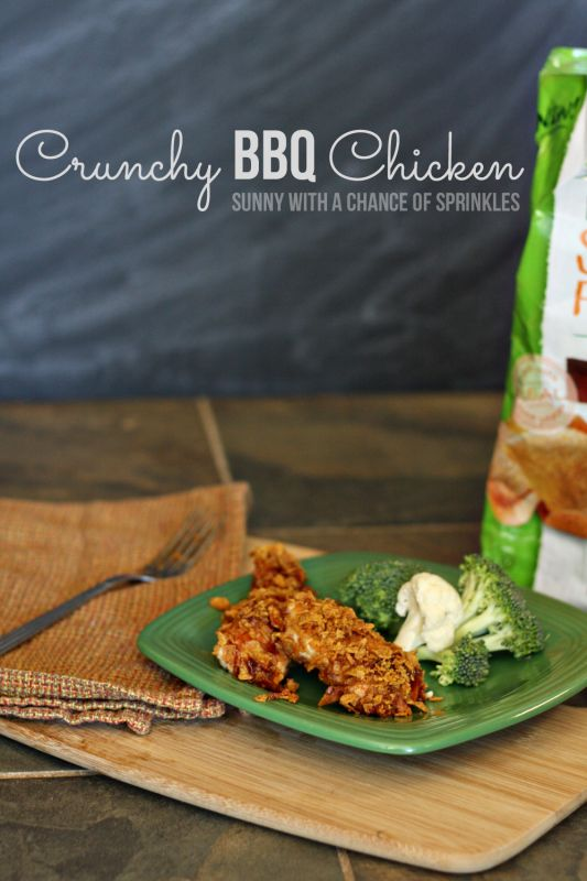 Crunchy BBQ Chicken Tenders Recipe