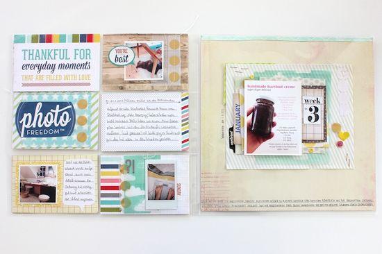 #ProjectLife #WeightLoss Album 2013 - week three - by Janna Werner