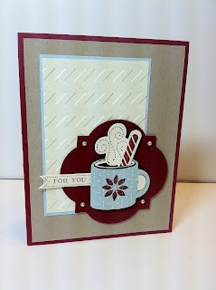 Stampin' Up! Christmas Card  by Stampin Sunshine: