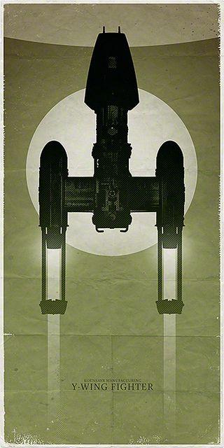 Star Wars - Y-Wing Fighter