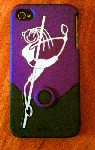 new phone, My Pole Family sticker