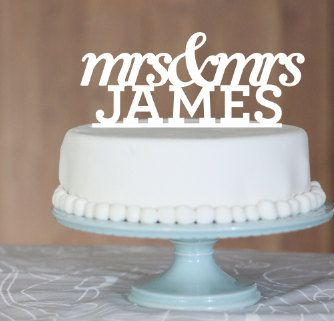 Mrs & Mrs wedding cake toppers #dental #poker