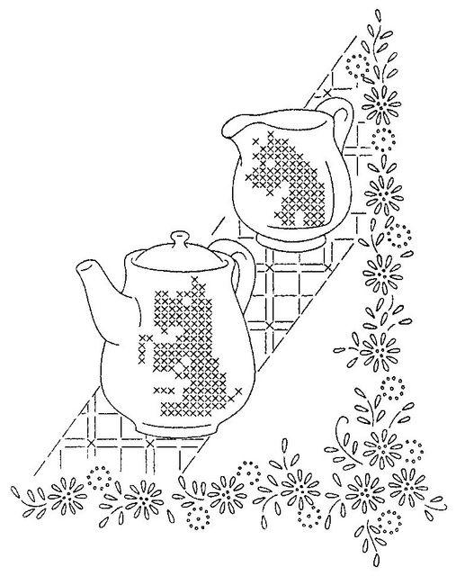 Vintage Embroidery Patterns of Flikr