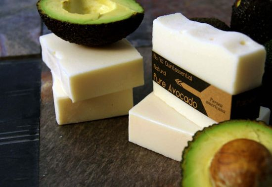 Totally  natural avocado handmade soaps $4