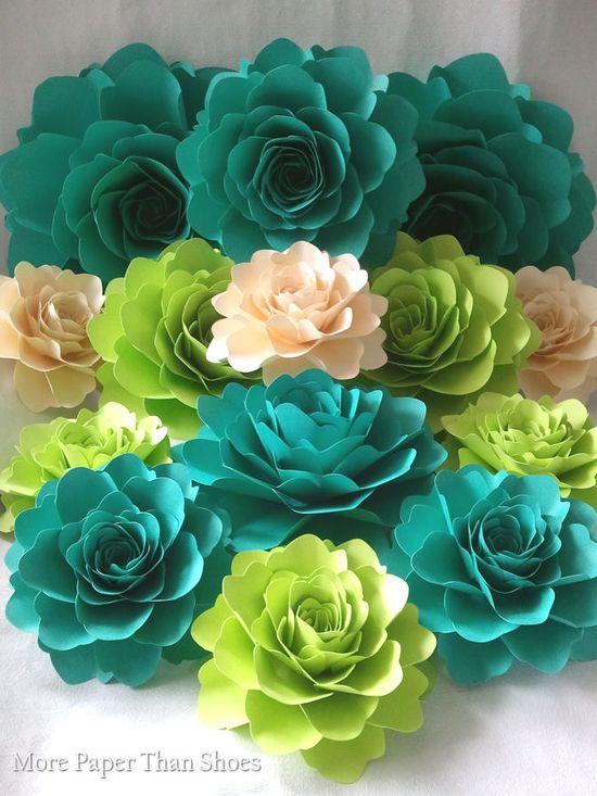 Large Paper Flowers  #paperflowers #wedding #large #flowers