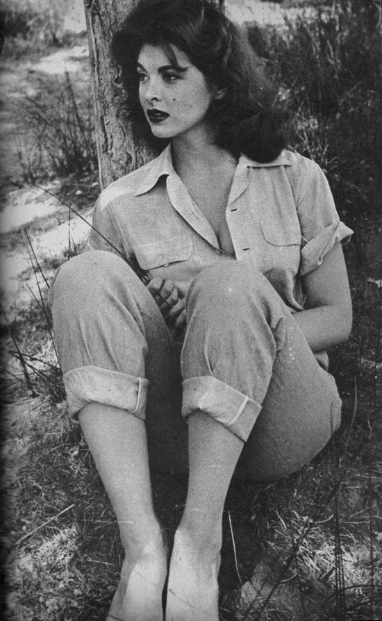 Tina Louis Hollywood 1962