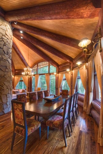 Murray Arnott Log Home Design